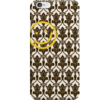 BBC Sherlock Holmes Damask Wallpaper Pattern iPhone Case/Skin
