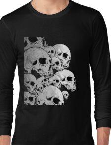 Skulls incoming - Left Long Sleeve T-Shirt