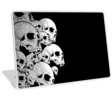 Skulls incoming - Left Laptop Skin