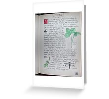 Page 5-Nature Journal Greeting Card
