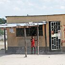 Botswanan Take-Away, Rakops, Botswana, Africa by Adrian Paul