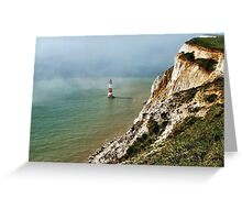 Beachy Head Lighthouse, East Sussex Greeting Card