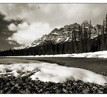Bow River Mono by Robert Mullner