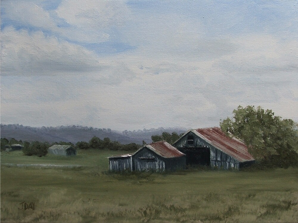The Old Shed by Jaana Day