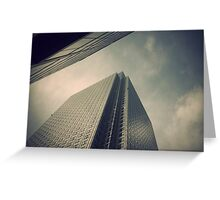 Great Planes of Windows Greeting Card