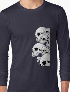 Skulls incoming - Right Long Sleeve T-Shirt