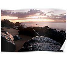 Dawn at Lamberts Beach Poster