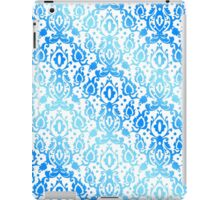Moroccan Blue Ocean Damask iPad Case/Skin