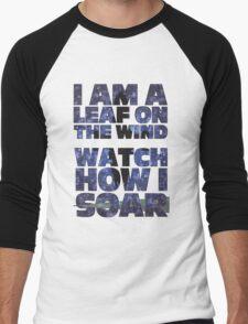 Leaf on the Wind v2.0 Men's Baseball ¾ T-Shirt