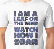 Leaf on the Wind v2.0 Unisex T-Shirt