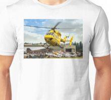 MBB BK.117C-1 G-RESC Air Ambulance arrival Unisex T-Shirt