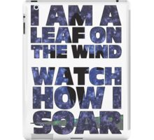 Leaf on the Wind v2.0 iPad Case/Skin