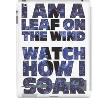 Leaf on the Wind v2.0 iPad Case/Skin