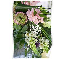 bride's bouquet Poster