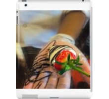 Chocolate Strawberries  iPad Case/Skin