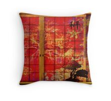 Peaceful Portal' Throw Pillow