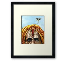 The Mad Sage Framed Print