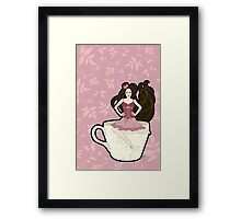 Tea and Corsets Framed Print