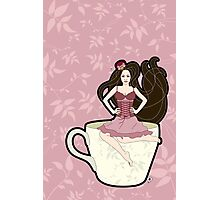 Tea and Corsets Photographic Print