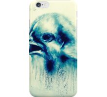 Bird on a london wall iPhone Case/Skin