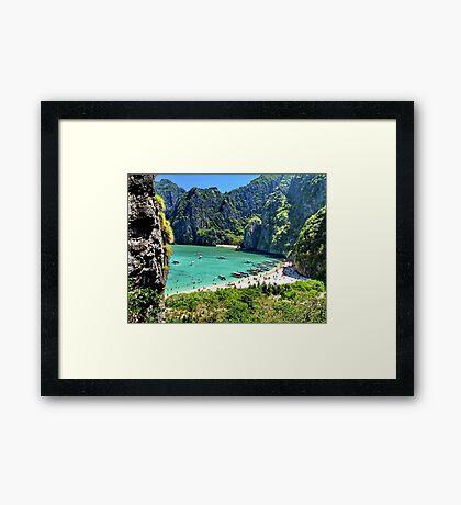 The Beach, Thailand Framed Print