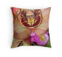 Byron Bouquet Throw Pillow