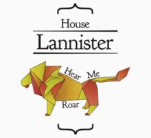 House Lannister - Stained Glass Kids Clothes
