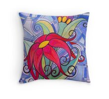 Corsage Throw Pillow