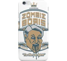 Zombie Boris Premium Vodka iPhone Case/Skin