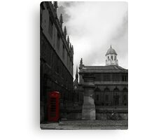 The Booth Canvas Print