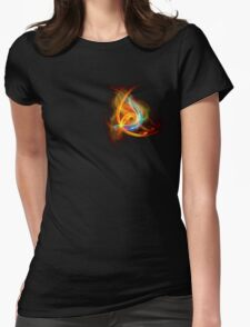 G-Clef Flame Womens Fitted T-Shirt