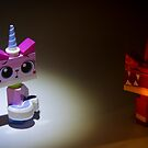 The 2 faces of Unikitty by David Haviland