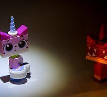 The 2 faces of Unikitty by David Haviland