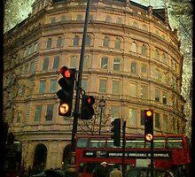 london Trafalgar square by Sonia de Macedo-Stewart