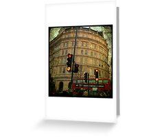 london Trafalgar square Greeting Card