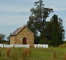 Little lost Church by Judy Woodman