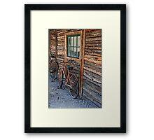 Bikers Rest Framed Print
