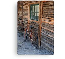 Bikers Rest Canvas Print