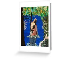 Cypress Knee Greeting Card