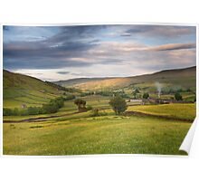 June in Swaledale Poster