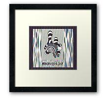 Poliwhirl  Framed Print