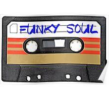 Funky Soul - Cassette Tape Poster