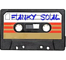 Funky Soul - Cassette Tape Photographic Print