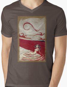 Mermaid Of Blood Mens V-Neck T-Shirt