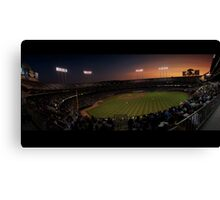 The A's at Sunset Canvas Print
