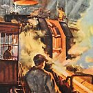 Steel works - Russian 1960's by Gareth Stamp