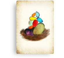 My Colorful Bird Babies Metal Print