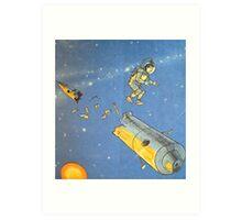 Lost in space 2 Art Print