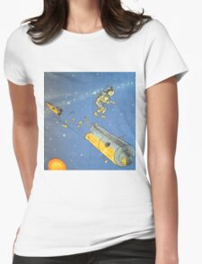 Lost in space 2 Womens Fitted T-Shirt