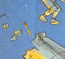 Lost in space 2 Sticker